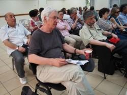 Attentifs à Givat Haviva