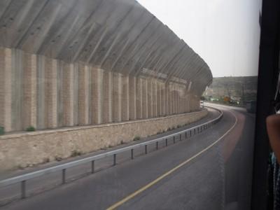 """""""Le mur"""" aux alentours de Jérusalem"""