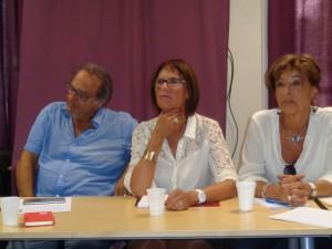 Pour JCall Suisse Léo Kaneman à gauche