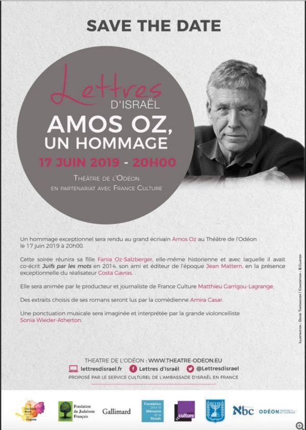 hommage Amos Oz